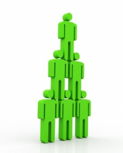 Amalgame MLM système pyramidal