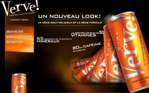 Un produit phare VEMMA boisson Verve