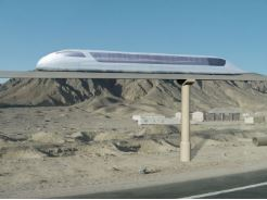 Concept skyway transport à grande vitesse