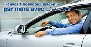 Avis Dexcar 1 nouveau partenaire par mois