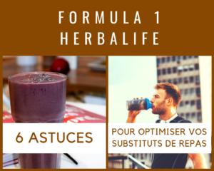 FORMULA 1 Substituts de Repas Herbalife - www.reussirsonmlm.com