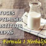 Les avis sur le produit phare HERBALIFE : la boisson nutritionnelle Formula 1 + Découvrez 6 astuces pour optimiser ses effets