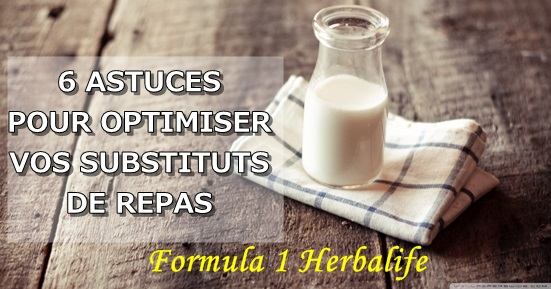 Produit phare Herbalife Formula 1