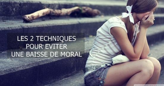baisse de moral 2 techniques