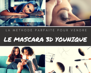 Mascara 3D Younique - www.reussirsonmlm.com