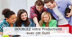 gain de productivité evenement en ligne