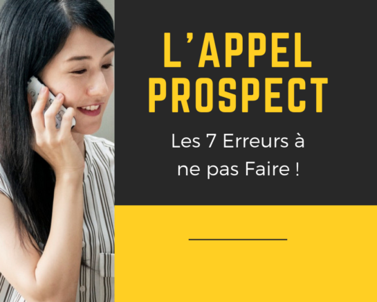 L'APPEL PROSPECT - www.reussirsonmlm.com