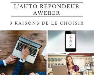 auto répondeur Aweber 3 raisons - www.reussirsonmlm.com